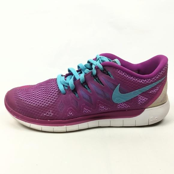 Nike 5.0 Fuchsia Flash Running Shoes 8